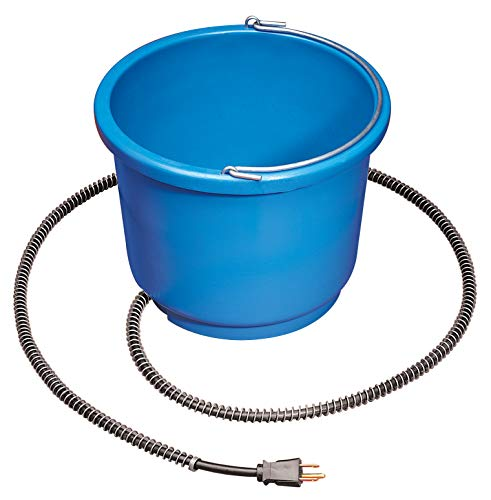 API 9 Quart Plastic Heated Bucket