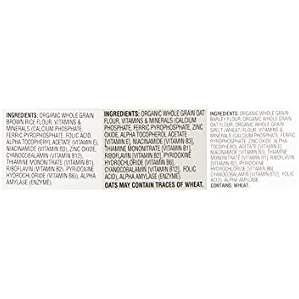Earth's Products Best Organic Whole Grain Rice, Oatmeal