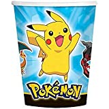 Pokemon Pikachu and Friends 9 oz Cups [8 Per Pack]