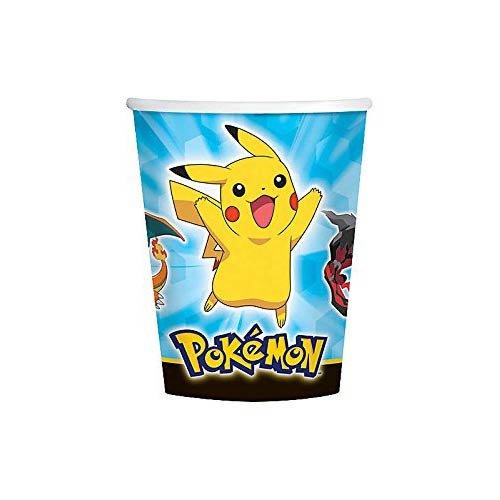 Pokemon-Pikachu-y-amigos-9-oz-tazas-8-per-Pack