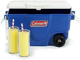 "Blue Coleman® Cooler /& Lemonade Glasses fits 18/"" American Girl Dolls Accessories"
