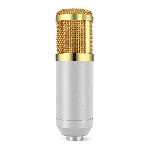 Live streaming Microphone Sound Studio Dynamic Mic +Shock Mount Condenser Pro Audio BM800 For Windows Mac (White) by Liu Nian (Image #5)