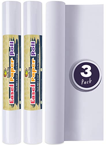 dle 3 Pack Easel Paper Roll fits Most Standard Kids 17