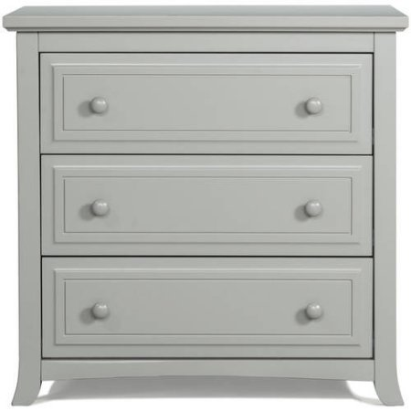 Graco Kendall 3 Drawer Chest - Pebble Gray