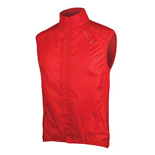 Endura Pakagilet Red, Medium by Endura