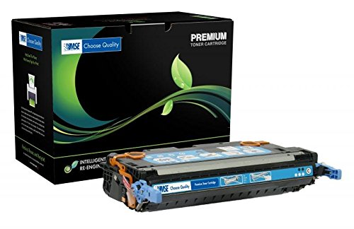 MSE MSE022170114 Remanufactured Toner Cartridge for HP 502A Cyan