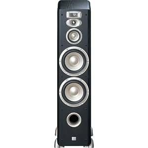 JBL L890 4-Way, High Performance 8-inch Dual Floorstanding Loudspeaker (Black)