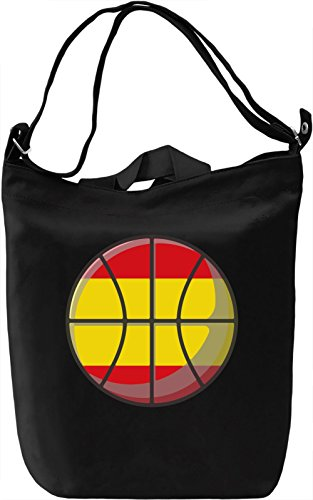 Spain Basketball Borsa Giornaliera Canvas Canvas Day Bag| 100% Premium Cotton Canvas| DTG Printing|