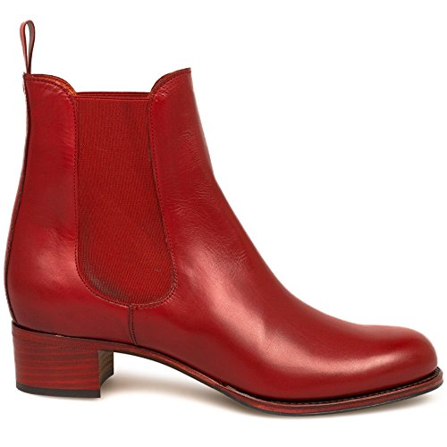 Les Chausseurs Ankel-Boots MONTERIVA Red Red CR8ec