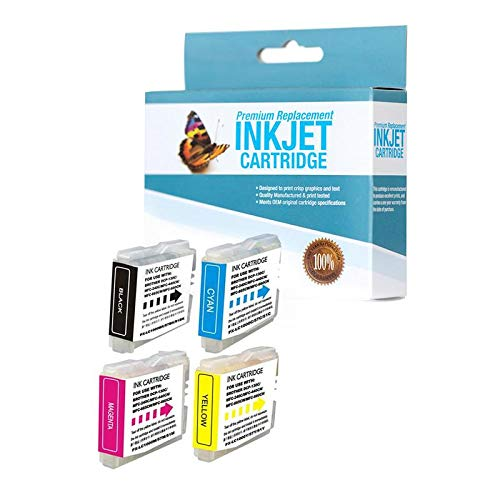 Brother Lc51 Compatible Ink - SuppliesOutlet Compatible Ink Cartridge Replacement for Brother LC51 (C,M,Y,K,4 Pack)