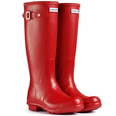 Amazon.com | Women's Hunter Boots Original Tall Snow Rain