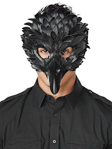 Seasons Crow Feather Masquerade