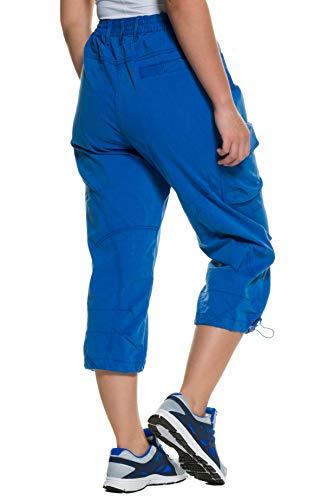 Luxueux Bleu Tailles 667042 Et 7 Cargo Popken Stretch Femme Confortable Ulla Pantalon Grandes 8 qO7Wwt