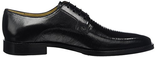 para Hombre Martin amp;Hamilton 1 Cordones Zapatos Melvin Derby de Schwarz Black T608qWU