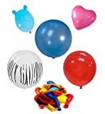 Set of 5 Packs of Assorted Colors and Sizes Balloons Over 300 Total