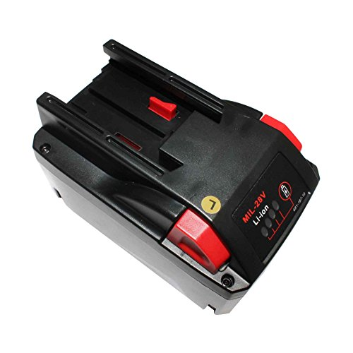 Replacement 28V 3.0Ah Li-Ion Battery for Milwaukee 48-11-2830 M28 V28 28v Cordless Hammer Drill