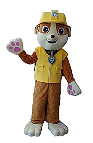 ARISMASCOTS Best Paw Patrol Mascot Costume for Adults Paw Patrol Rubble Mascot Costume Buy Cartoon Character Mascot Costumes at -