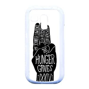 CeeMart The Hunger Games Pattern Plastic Hard Case TPU Phone case cover for Samsung Galaxy S3 Mini i8190 white