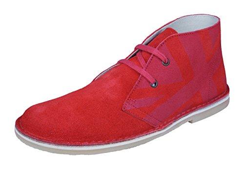 Start Rite Colorado II Mädchen Wildleder Desert Boots / Schuhe Red
