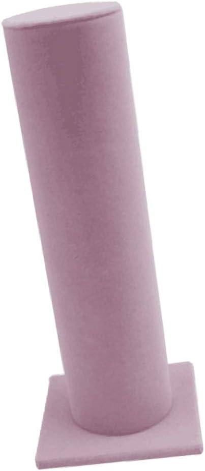 Unisex Velvet Vertical Tower Jewelry Bracelet Stand Bangle T-Bar Display Holder
