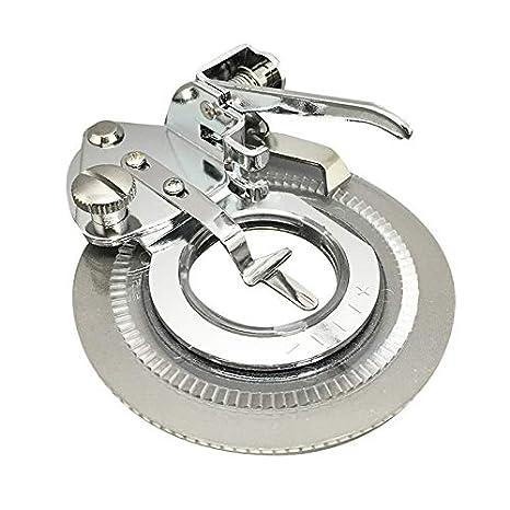 Para máquinas de coser con tornillo de flores de punto de pie con instrucciones para la