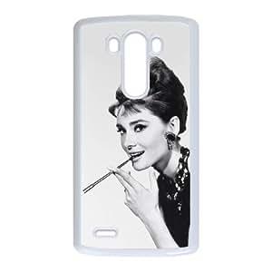LG G3 Cell Phone Case White Audrey Hepburn 001 PQN6053055382021