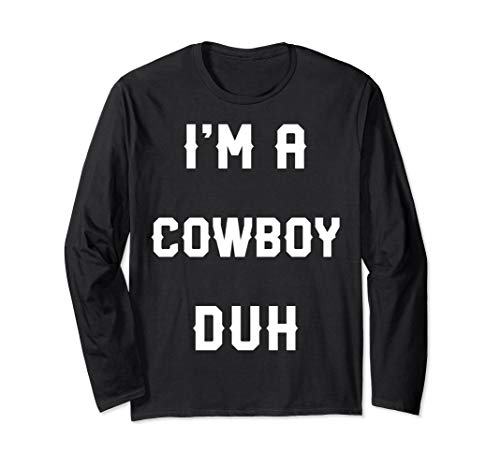 Halloween Easy Cowboy Costume Long Sleeve, I'm A