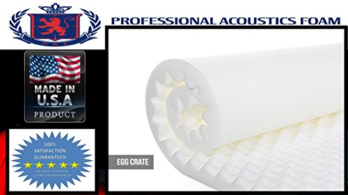 Professional Acoustic White Studio Soundproofing product image