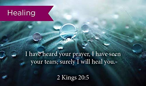 Pass Along Pocket Scripture Cards, Healing, Kings 20:5, Pack of 25