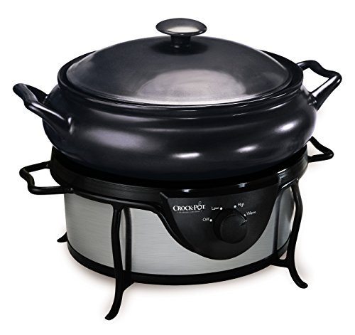 220-230 Volt/ 50Hz, Crock-Pot SC7500, Countdown Saute Slow cooker, OVERSEAS USE ONLY, WILL NOT WORK IN THE US by Crock-Pot