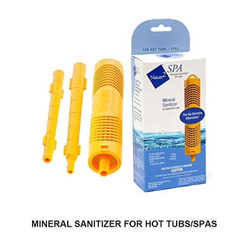 Hot Tub Spa New Nature2 W20750 Mineral Sanitizer Cartridge Stick -Up to 500 Gallon Hot Tub,Give You Clean Clear Water Without High Levels of Chlorine