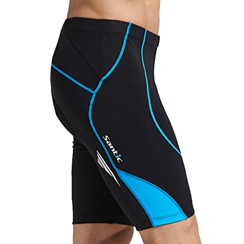 mens padded cycling shorts - 1