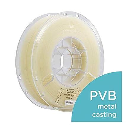Designed for Investment Casting Polymaker PolyCast 3D Printer Filament 1.65 lb 1.75mm /± 0.05 mm /… Natural Color Spool 750 g Metal Casting