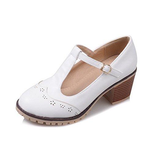 36 Compensées Sandales Blanc Femme 1TO9 5 Inconnu Blanc EU YwqzxR