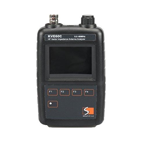 Boger Vector Impedance Antenna Analyzer KVE60C for Walkie Talkie Graphical Representation Ham Radio