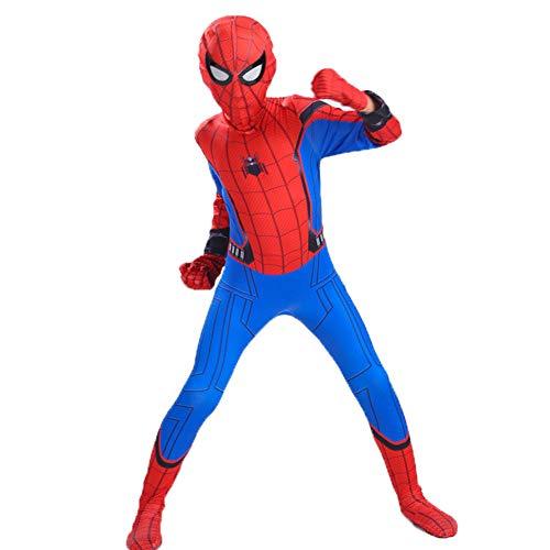 GERGER BO Spiderman Homecoming Costume,Kids Superhero Lycra Spandex Zentai Cosplay Costumes]()