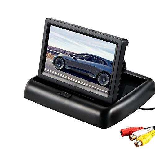 Squarem /Écran de Moniteur de Vue arri/ère daffichage de Moniteur de Voiture de 4.3 TFT LCD pour la cam/éra de recul de Voiture