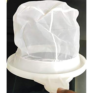 90 Degree Milk Stainer Garani Plastic Filter Mesh Nylon Milkcan Fitted (3 Pcs) for Dairy Imdustries 11