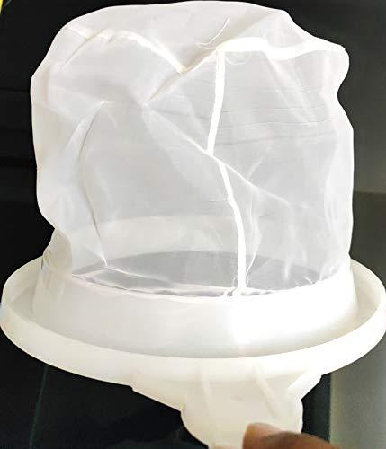 90 Degree Milk Stainer Garani Plastic Filter Mesh Nylon Milkcan Fitted (3 Pcs) for Dairy Imdustries 2