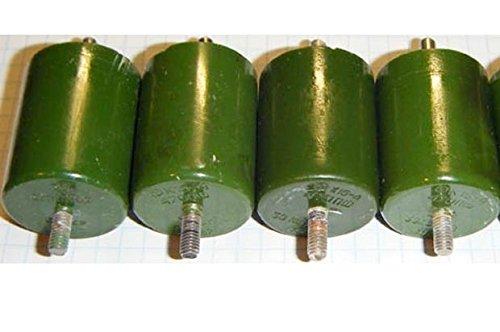 4 pcs/lot Vintage 470pF 20kV High Voltage USSR Doorknob Capacitors K15-4 for HAM, Marx, Tesla, etc DIY