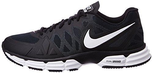 ddd45dff4 Nike Mens Dual Fusion Tr 6 Black White Mtllc Slvr Pr Pltnm - Import It All