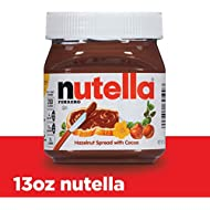 Nutella Chocolate Hazelnut Spread, Perfect Topping for Pancakes, 13 oz (Pack of 1)
