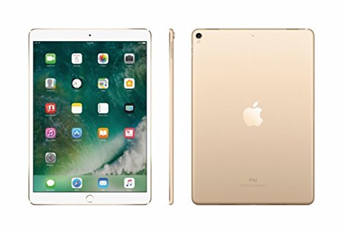 2017 New IPad Pro Bundle (4 Items): Apple 10.5 inch iPad Pro with Wi-Fi 512 GB Gold, Leather Sleeve Saddle Brown, Apple Pencil and Mytrix USB Apple Lightning Cable by uShopMall (Image #2)