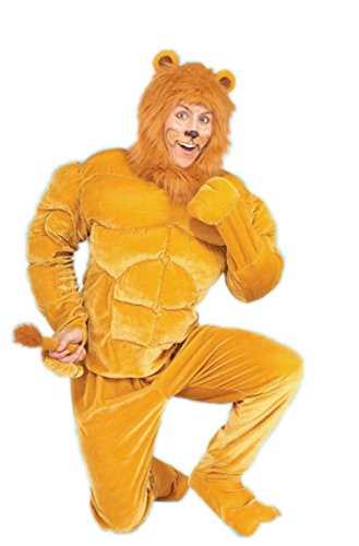 Lion Tamer Male Costume (Adult Macho Lion Goes Great with Lion Tamer or Dorothy Cowardly)