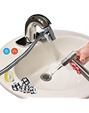 """AVAbay Faucet Bidet Sprayer for Toilet - Warm Water Diaper Sprayer with 80"""" Hose and Diverter for Hot/Cold/Warm Bide - Handheld Water Hose Attachment for Sink or Bathroom Toilet"""