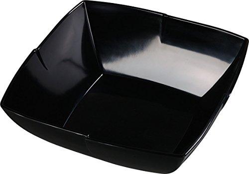 Carlisle 3331403 Rave Displayware Melamine Salad Bowl, 4.5-qt. Capacity, 4