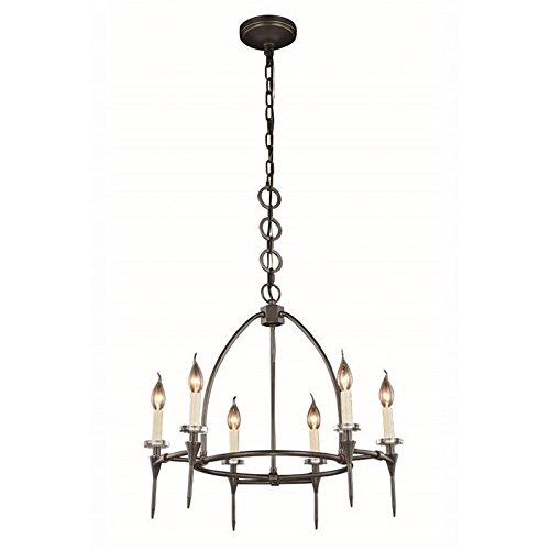 Lamp Celtics (Elegant Lighting 1499D24BZ Celtic Collection Pendant Lamp D24