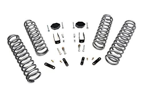 Rough Country - 624 - 2.5-inch Suspension Lift System for Jeep: 07-18 Wrangler JK 4WD
