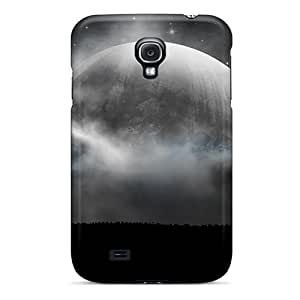 Robearke Fashion Protective Fantasy Moon Case Cover For Galaxy S4