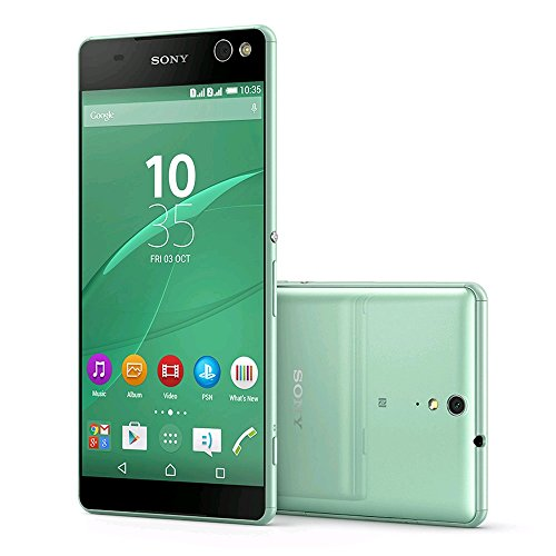 Xperia C5 Ultra Dual E5563 16GB Dual SIM Unlocked GSM Smartphone - International Version, No Warranty (Mint Green)